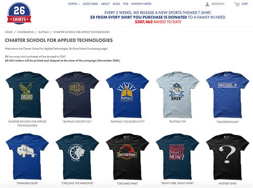 Purchase a Buffalo or CSAT-Themed Shirt, Support CSAT!