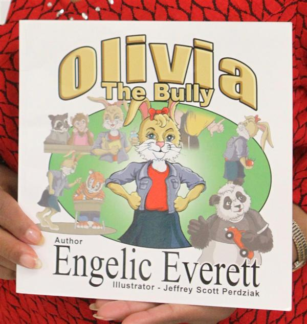 First Grade Meets Author of Olivia The Bully