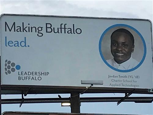 Class of 2018 Grad Featured in Billboard Campaign