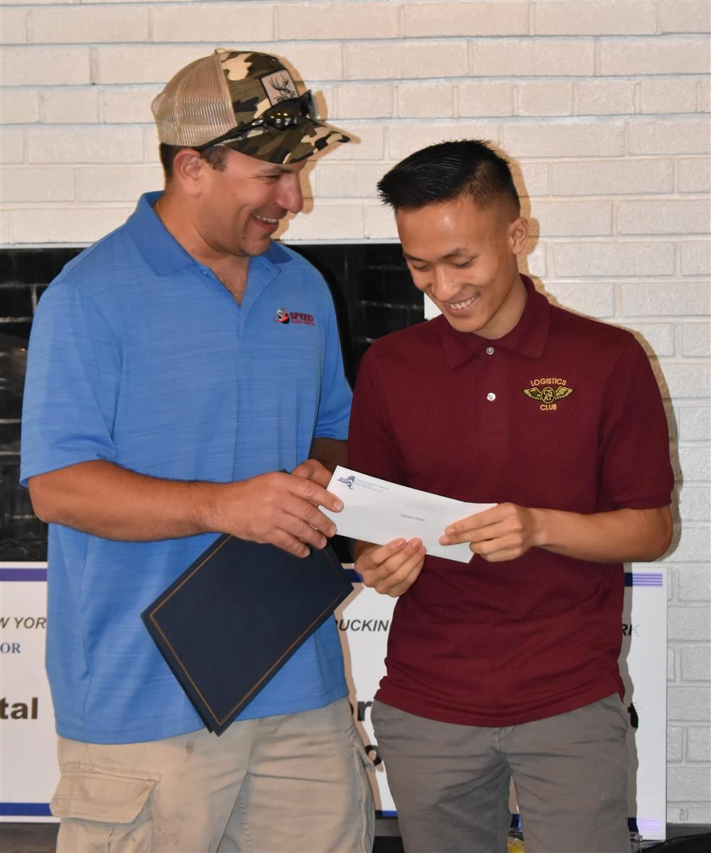 Trucking Association Honors CSAT Students at Annual Golf Tournament