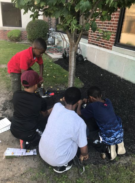 CSAT Young Gentleman's Club Completes Weekend Beautification Project