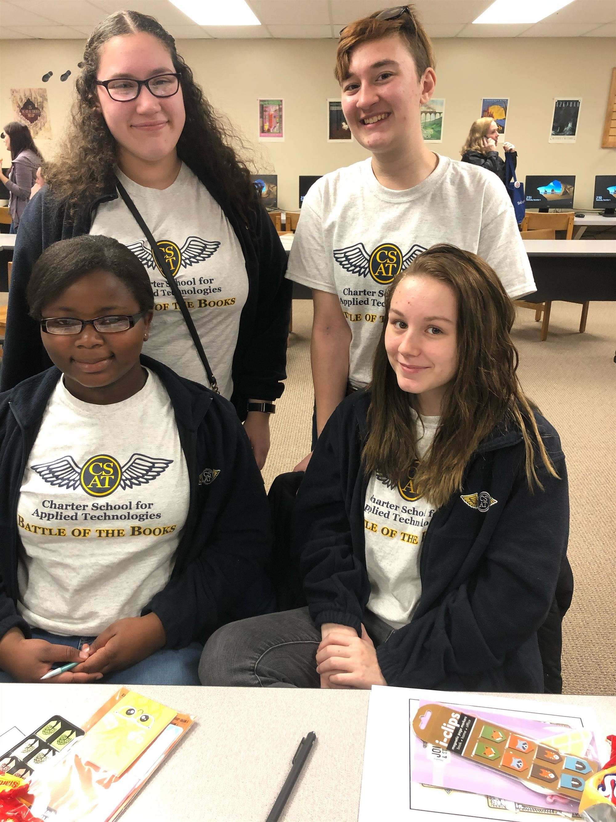 CSAT Sweeps Battle of the Books Second Year in a Row