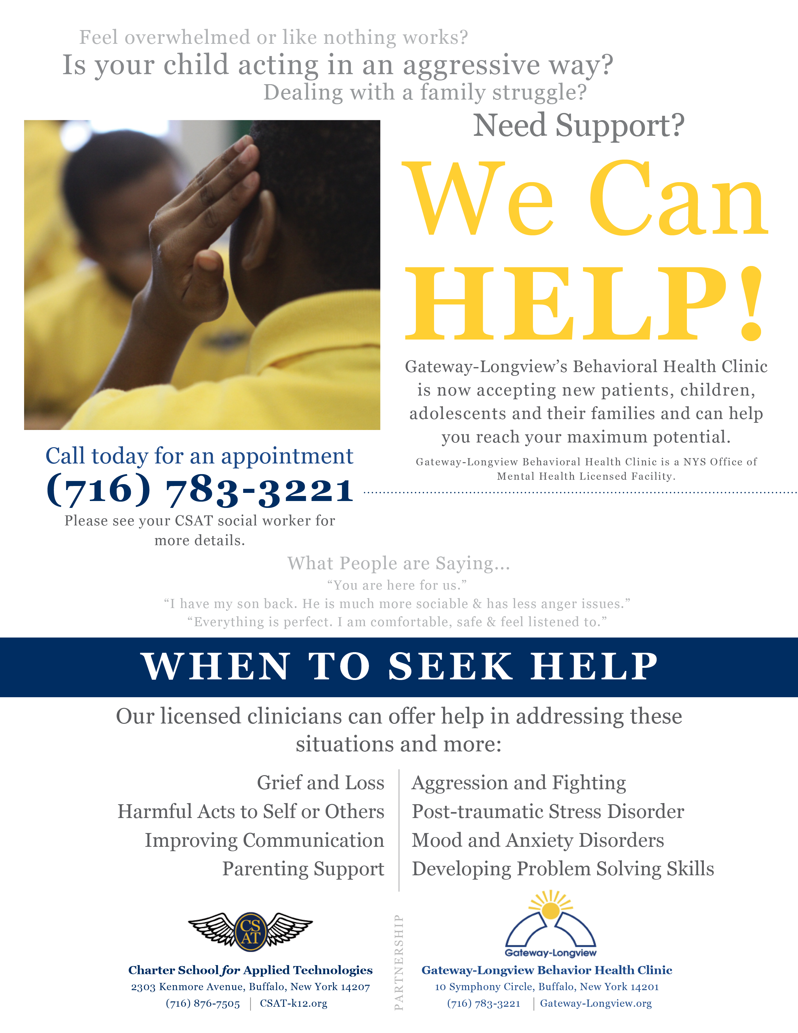 K-5 Counseling / Welcome